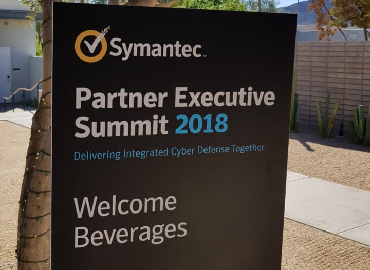 Future presente no Symantec Partner Executive Summit 2018